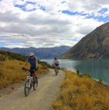 Oamaru's beautiful Alps 2 Ocean Cycle trail - image supplied by Tourism Waitaki