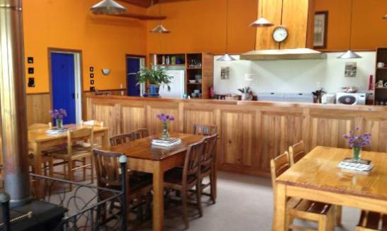 Old Bones Boutique Lodge - large dining room